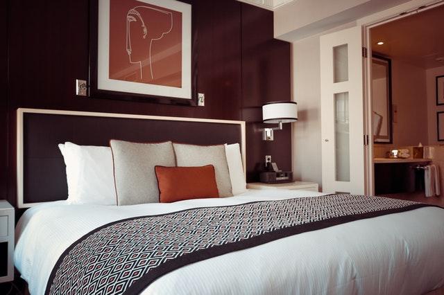 Hotel Bett & Trockenwäsche